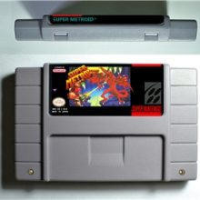 RPG Game Cartridge - Super Metroided or Zero Missioned or Hyper Metroided or Justin Bailey or SuperMetroid PHAZON Hack