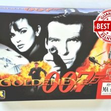 Golden Eye GoldenEye 007 For 64 Bit Game Cartridge EUR Version PAL Format