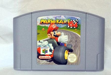 Mario Kart 64 Nintendo 64 Eur Version Pal Tested Work