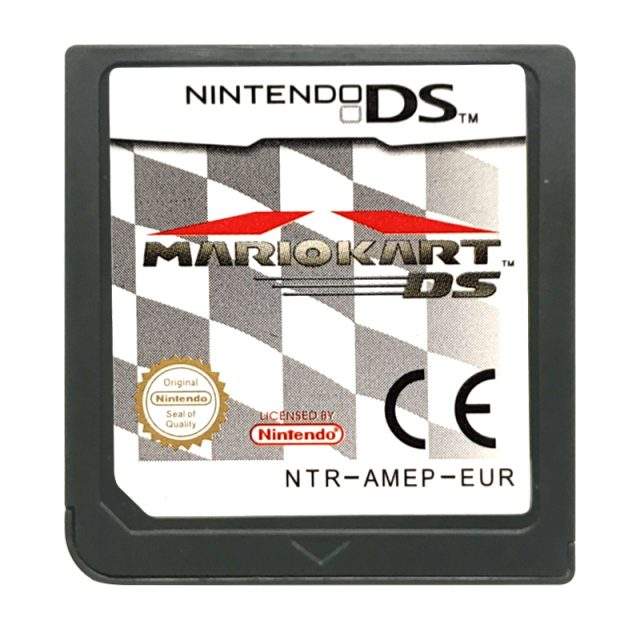 Mario Kart Ds With Box And Manual